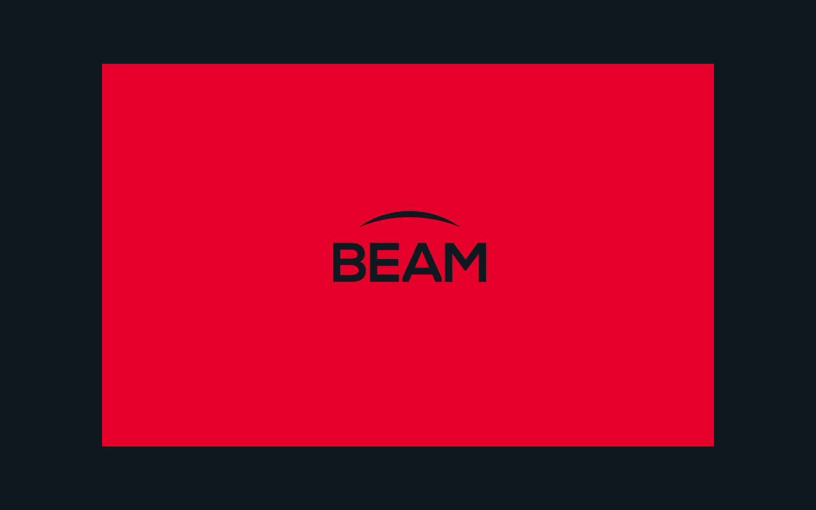 BEAM visual identity by Mark Forscher